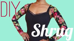 DIY Shrug for Dancers (No Special Pattern Required!)