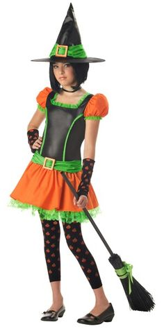 Tween Spiderina Witch Costume is cool | coolnes | Pinterest ...