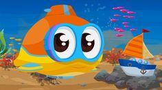 Cartoni Animati per bambini: Oscar il sottomarino e la barca