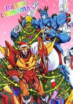 mtmte Rodimus & Ultra Magnus Merry Christmas
