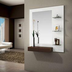 consola, espejo y estantería/perchas 31