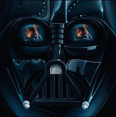 star wars art - Out of one of one of Science Fiction;s most lucrative film franchises comes an illustrious collection of Star Wars art pieces. Anakin Vader, Darth Vader, Star Wars Fan Art, Star Wars Painting, Star Wars Personajes, Star Wars Images, Star Wars Poster, Love Stars, Cultura Pop