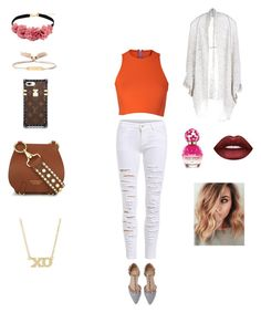 """Untitled #38"" by crinutacrinuta on Polyvore featuring Chloé, Burberry, Sydney-Davies, Paychi Guh, Jennifer Meyer Jewelry, Lime Crime and Marc Jacobs"