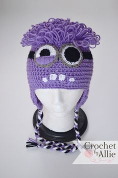 Evil minion winter hat