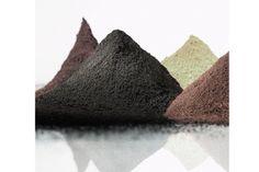 Pigmentpulver, Eisenoxid, Oxidfarbe - 1kg Farbpigmente für Beton + Wand - Farbe: schwarz