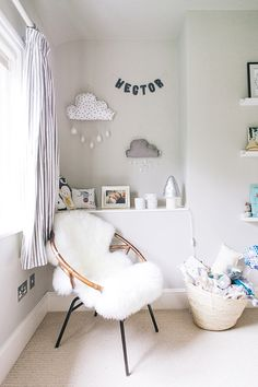 grey and blue colours nursery - Google Search