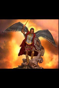 ~J    St Michael will crush...evil !