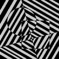 Optical Illusion Knitting chart patterns - Bing images