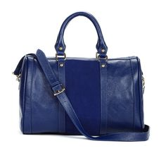 Kaylin Satchel in Navy.
