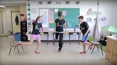 Bouge en classe avec Jeunes en santé #3 Zumba, French Classroom, French Immersion, Brain Breaks, Teaching French, Exercise For Kids, Just Dance, Teaching Tools, School
