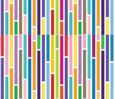 Modern Stripes fabric by sas276 on Spoonflower - custom fabric