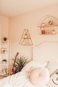 Home Interior Decoration .Home Interior Decoration Cute Bedroom Ideas, Cute Room Decor, Trendy Bedroom, Home Bedroom, Bedroom Decor, Bedroom Inspo, Master Bedroom, Aesthetic Room Decor, Dream Rooms