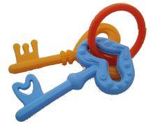 Schlüssel mit Schlüsselring, die man auch abnehmen kann. Zum Spielen, zur Erinnerung oder Deko! ::::: Neu & unbenutzt!