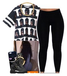 """""""✨"""" by newtrillvibes ❤ liked on Polyvore featuring Casetify, Versace and Retrò"""