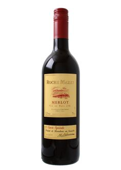 My lovely ex father-in-law brings me this back from France a lot. It's very nice. Roche Mazet | IGP Pays d'Oc