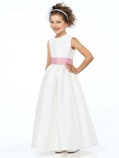 0c798b25468 Hot Sale Flower Girl Dresses For Wedding White Girl Birthday Party Dress  Ankle-Length Vestido de Daminha Mother Daughter Dresses