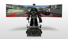 CXC Simulations' Motion Pro II: A Professional Level Racing Simulator for Home - http://www.gizorama.com/2015/news/cxc-simulations-motion-pro-ii-a-professional-level-racing-simulator-for-home