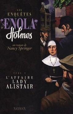 Ma chronique de 'L'affaire Lady Alistair' de Nancy Springer