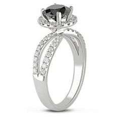 Suddenly I'm not so sure how I feel about a about a black diamond wedding ring...