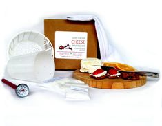 Artisan DIY Goat Chevre Cheese Making Kit - Learn how to make home made goat cheese. Make up to 1½ pounds of crumbly or creamy goat cheese with our Goat Cheese Making Kit. You'll love making fresh, tasty goat cheese in your own kitchen with this fun and easy cheesemaking kit. Everything you need to make homemade goat milk cheese is included (does not include goat...