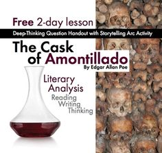 "the use of dramatic and verbal irony in the cask of amontillado by ea poe Irony in the cask of amontillado by edgar allan poe and ""a good man is hard   throughout the story, poe uses verbal and dramatic irony to build suspense,."