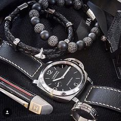 Essential's by Nialaya.  Love this combo from Panerai Central
