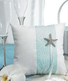Weddingstar 8498 Seaside Allure Ring Pillow $29.68 #wedding
