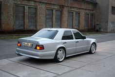 Mercedes Benz E500 Amg (w124) by р|d, via Flickr