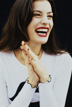Liv Tyler ♥ what an infectious glorious laugh!      ♥ LOVE HER ♥