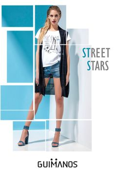 street stars  --Knit - inky blue-- details will make you stand out for sure!  by: #Guimanos