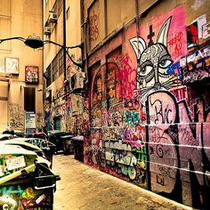 Melbourne / urban / graffiti art / street photography by ►CubaGallery, via Flickr