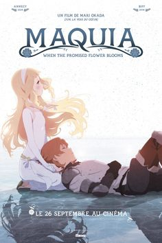 Anime : une projection en France pour Maquia - When the Promised Flower Blooms