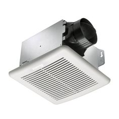 Delta Electronics GBR80 80 CFM Single Speed Breez Green Builder Ventilation Fans (GBR80) (Plastic)