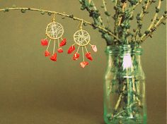 Dreaming in red / bobcek - SAShE. Drop Earrings, Red, Jewelry, Pictures, Colors, Jewellery Making, Jewlery, Jewelery, Jewerly