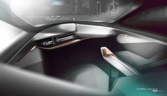 From Munich, we bring you live photos of the newly unveiled BMW VISION NEXT 100.
