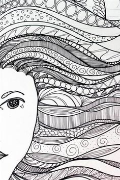 Zentangle Patterns for Beginners - Bing Images                                                                                                                                                     More