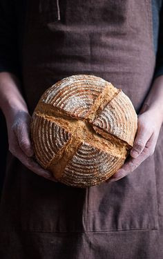 rustic bread for you! My Daily Bread, Spoon Bread, Pain Au Levain, Bread Art, Rustic Bread, Easy Bread, Le Chef, Artisan Bread, Sourdough Bread