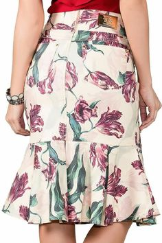 Dress Skirt, Midi Skirt, Short Skirts, Floral Tops, Fashion Dresses, Clothes For Women, Lady, Blouse, My Style