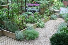 Kitchen garden at Bolen residence   jardin potager  Flickr - Photo Sharing!