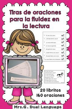 These little books are a great resource for bilingual, dual language and Spanish immersion learners. They can be used in centers, small groups or as homework. Fun activity to develop fluency reading in Spanish.
