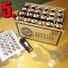 Make your own Schlafly beer Advent calendar