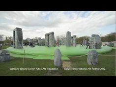 'Sacrilege' Jeremy Deller's inflatable Stonehenge - Glasgow