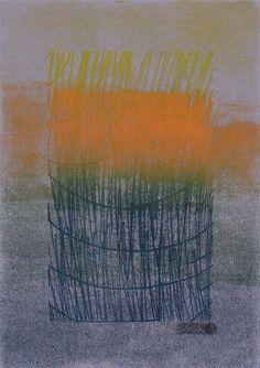 """7"" - Monotipo Painting, Art, Printmaking, Art Background, Painting Art, Kunst, Paintings, Performing Arts, Painted Canvas"