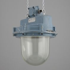 industrial explosion proof alluvium and glass pendants