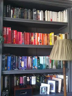 My colour coded bookcase