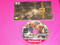 God of War II PS2 Game (Book & Game ONLY) Sony PlayStation 2, 2007 - Kratos  | eBay