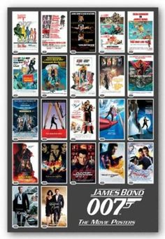 Amazon.com - Pyramid James Bond 22 Movie Posters Wall Poster