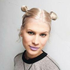 Very nice & cute hairstyle.