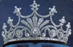 """Previous pinner: Queen Anne Boleyn's Crown. Me: I have serious doubts that this tiara dates back to the 16th century. Maybe it's from the HBO series, """"The Tudors"""", and THAT'S the Anne Boleyn they're talking about. All I can find on this tiara is a Pinterest label, which is pretty meaningless. It's a pretty piece of jewelry, and I like it, so it's going here for now."""