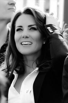 Kate Middleton, now known as Catherine the Duchess of Cambridge.